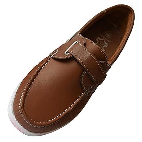 Beverly Originals Chaussures Bateau Cuir Homme Men's Casual Klett, Couleur:brun, Taille:44