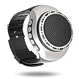Tragbare Sport Armband Wireless Bluetooth Lautsprecher Armbanduhr MP3-Musik-Player UKW-Radio Freisprechfunktion Telefon-Anti-Verlorene TF Karten-Unterstützung Remote-Selbstauslöser 8 Beleuchtungsmodi