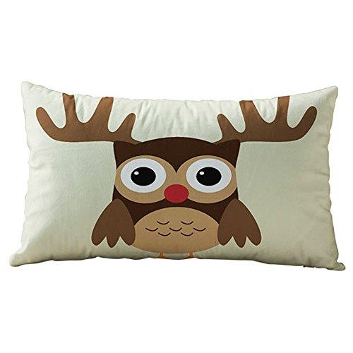 Gusspower Navidad Fundas De Cojin Almohada Caso de Algodón Pillow Case Sofa...