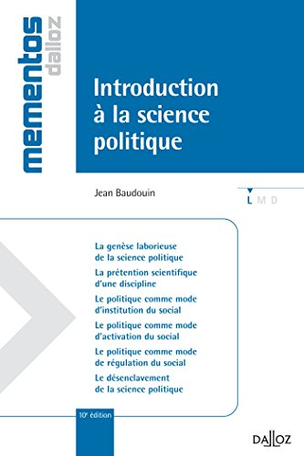 Introduction à la science politique - 10e éd.: Mémentos
