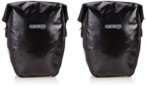 Ortlieb Men's Back-Roller City Bicycle Bag (1 Pair) -Black, 40 Litre