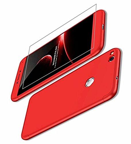 AILZH Custodia Huawei P9 Lite(2017)/P8 Lite(2017)/Honor 8 Lite Cover  360°Copertura Protettiva Case Guscio Duro Anti Shock Anti-graffio Bumper  360