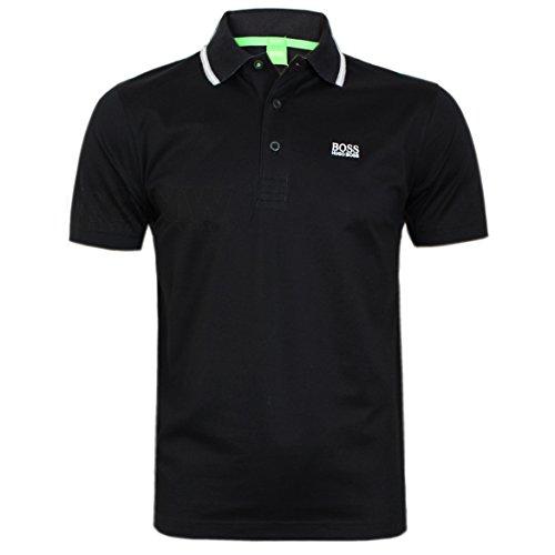 hugo-boss-polo-uni-col-chemise-classique-homme-noir-noir-et-blanc-xl-noir-medium