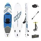 Bestway Hydro-Force Oceana  65303 - Tabla Paddle Surf Hinchable con bolsa, kit de reparación, un remo ajustable a 1 o 2...