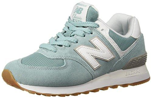 New Balance Damen Wl574EB Sneaker, Blau (Navy), 36 EU