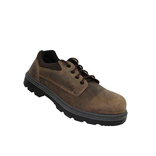 Aimont trucker finland s3 sRC chaussures de travail chaussures chaussures berufsschuhe businessschuhe plat marron Marron