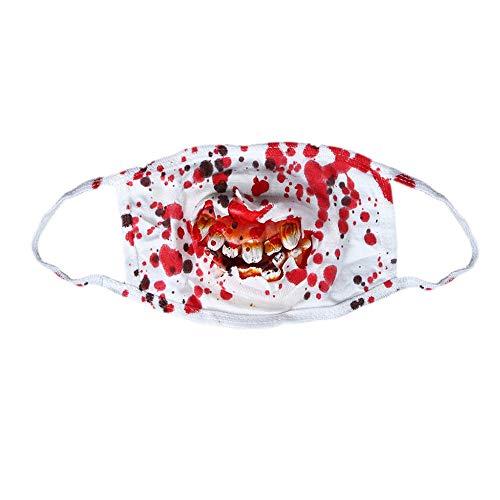 siten Halloween Ghost Festival Dekoration Zahnersatz Blut Maske Horror Arzt Maske Halloween Maske ()