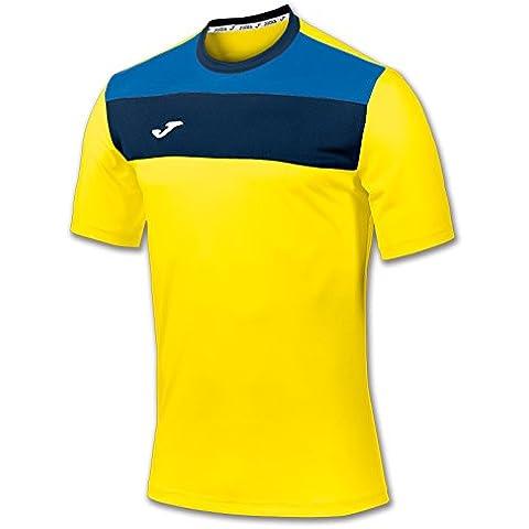 Joma 100224 - Camiseta de equipación de manga corta para hombre