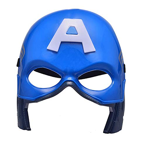 morningsilkwig Superheld Halloween Maske Avengers Captain America Kostüm Masken Kinder Party Masken