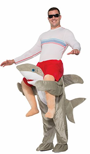 Forum Novelties, Inc Adult Ride a Shark Fancy Dress Costume Standard (Shark Fancy Dress Kostüm)