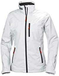 Helly Hansen W Crew Midlayer Jacket Chaqueta Impermeable, Mujer, White, XS