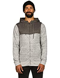 Sweat zippé à capuche Element Meridian Gris Heather