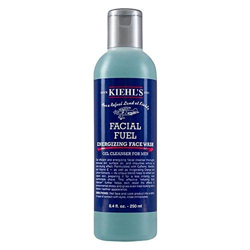 Kiehl's Facial Fuel Energiespendende Gesichtswäsche - Flasche, Normale Größe 8.4oz (250ml) (Kiehl Facial Fuel)
