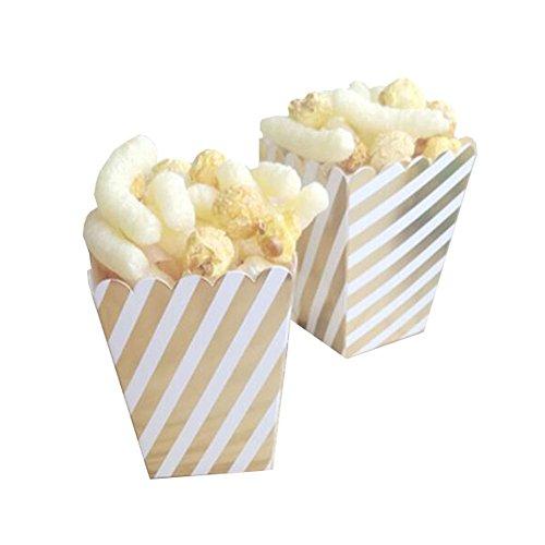 Black Temptation Popcorn Boxes Fries Cups Partyartikel - A9-12PCS