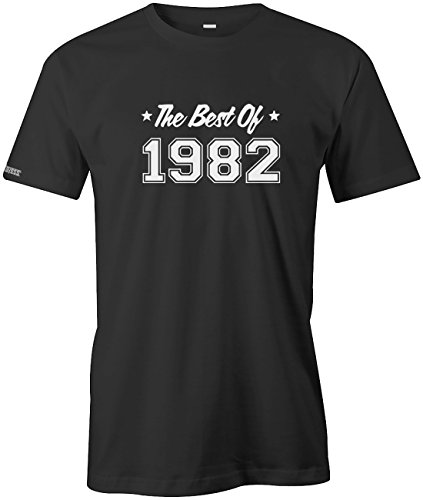 THE BEST OF 1982 - HERREN - T-SHIRT in Schwarz by Jayess Gr. M (T-shirt 1982)