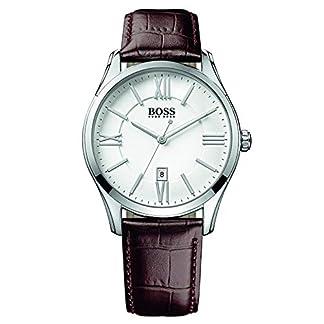 Reloj con mecanismo de cuarzo para hombre Hugo Boss 1513021, diseño clásico y correa de piel.