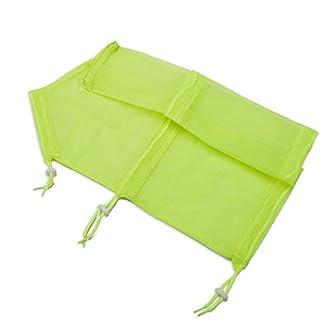 Adjustable Mesh Pet Cat Grooming Wash Bath Bag - Summer Safety Bathing Shower Bag for Small Animal Dog Cats Pet Triming Nail Cut Bag (Yellow) 9