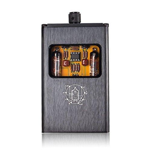Nobsound little bear b4 amplificatore stereo valvolare portatile hi-fi amp, con batteria integrata, per cuffie