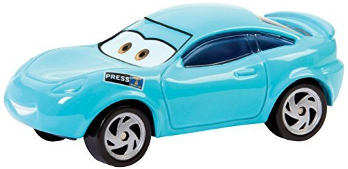Disney/Pixar Cars, 2015 Lost and Found Die-Cast Vehicle, Kori Turbowitz #1/8, 1:55 Scale by Mattel