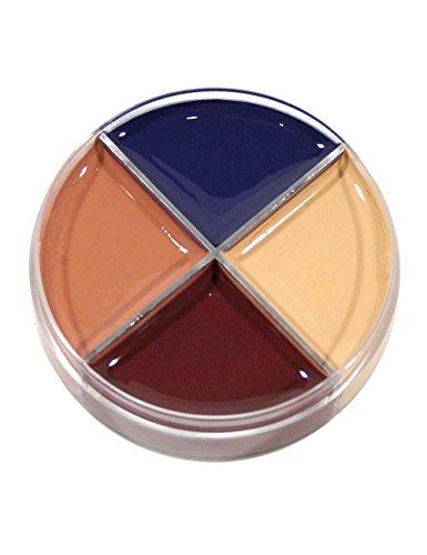 Make Up Dose Wunde mit 4 Farben bunt - Haut-maske Make-up Halloween