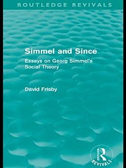 Simmel essays