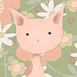 Oopsy Daisy Canvas Wall Art Le Mew by Meghann O Hara, 10 by 10-Inch
