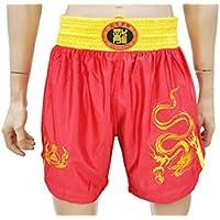 Short Boxeo Chino Sanda Club, Dragon - Rojo, XXXL