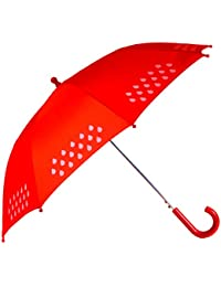 Colour Change Umbrella - Children's (Red)