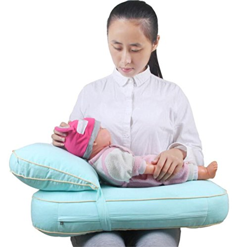 Oreillers Allaitement Coussins d'allaitement pour bébés Oreillers à Poitrine réglable Combinaison à Froid et à la Chaleur Double Fonction de Taille, 1