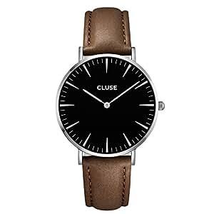 CLUSE La Bohème Silver Black/Brown CL18203