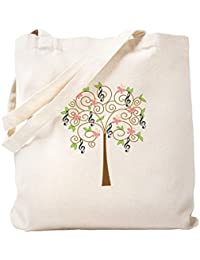 Cafepress Music Treble Clef Tree Gift Tote caf4997737c
