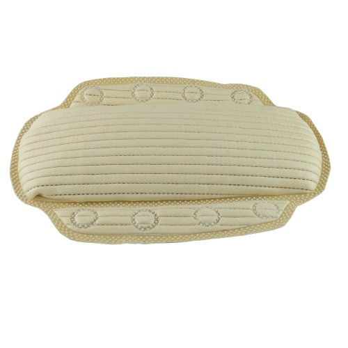 Preisvergleich Produktbild Value 4 Money Badewannenkissen mit Memory-Foam, antibakterielles Material