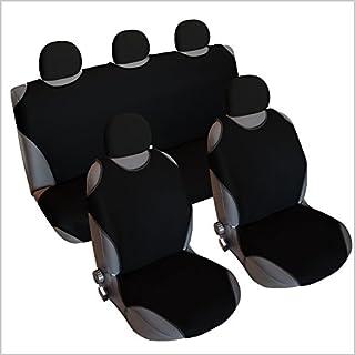 akhan CSC406S Sitzbezug Set T-Shirt-Design Schwarz