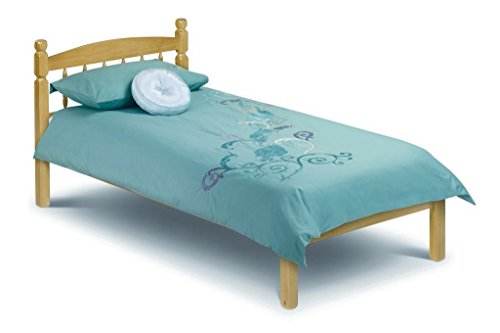 Happy Beds Pickwick Pine 3' Single Solid Pine Wood Bed With Orthopaedic Mattress