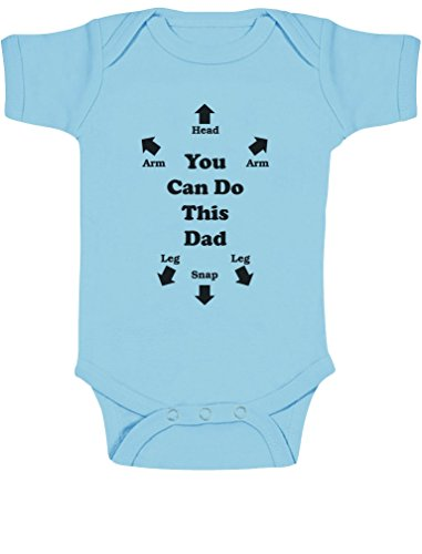 Happy Father/'s Day Best Present Funny Boys Girls Babygrow Gift 0-18 Months