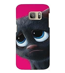 EPICCASE Grumpy Cat Mobile Back Case Cover For Samsung Galaxy S7 (Designer Case)