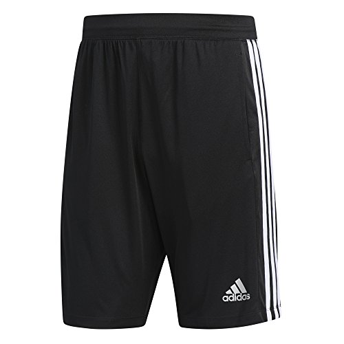 adidas D2 M 3S Herren Polo Tennis Black/White