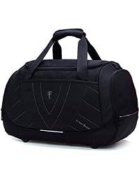 Victoriatourist Travel Duffle Bag Business Luggage Sports Gym Bag Weekender Duffel, Black