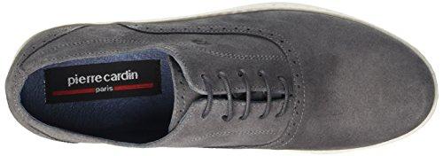 Pierre Cardin Relko, Chaussures Lacées Homme Gris (Velour Gris)