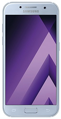 Samsung Galaxy A3 (2017) Smartphone (12,04 cm (4,7 Zoll) Touch-Display, 16 GB Speicher, Android 6.0) blau