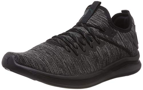 Puma Herren Ignite Flash Evoknit Cross-Trainer, Schwarz (Puma Black-Dark Shadow-Ponderosa Pine 20), 41 EU Herren Schuhe Shop