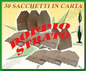 Sconosciuto 30 Sacchetti X ASPIRAPOLVERE Folletto VORWERK 130 131