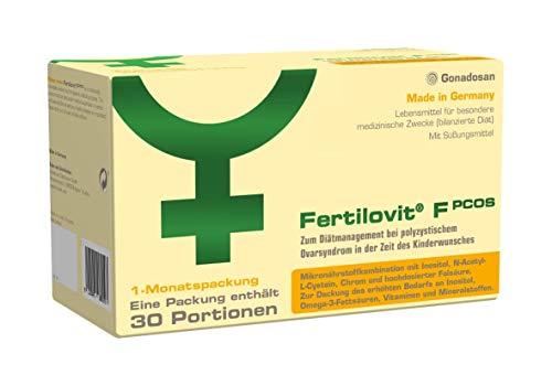 Fertilovit PCOS   60 Kapseln + 30 Sticks für 30 Tage   zum Diätmanagement bei polyzystischem Ovarsyndrom in der Zeit des Kinderwunsches. / Inositole, Vitamine