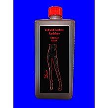 1litro látex líquido de goma de látex de goma de látex negro de goma de látex de la leche de goma natural Leche ropa ropa Make It yourself.