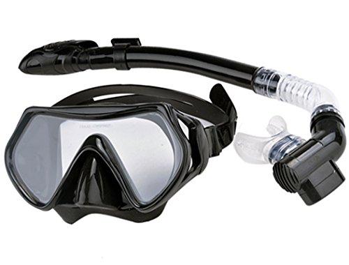 Groten Scuba Tauchen Schnorcheln Maske Schnorchel Wassersport Getriebe Combo Set Neu (Tauchausrüstung Maske, Schnorchel)