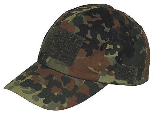 Einsatz-Cap, mit Klett, Einheitsgröße, flecktarn