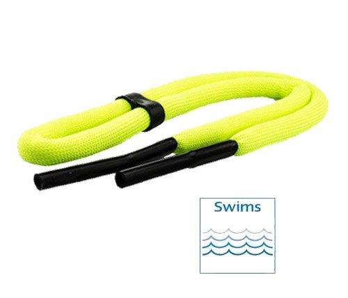 schwimmfähiges Brillenband in neon gelb, neon orange oder rot (neon gelb)