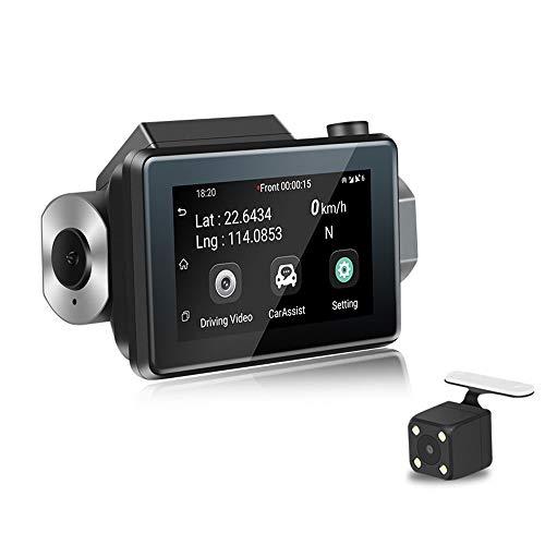 HD-Auto-DVR-Kamera 3G Versteckte WIFI-Dashcam mit Schleifenaufnahme und Parkmonitor ()