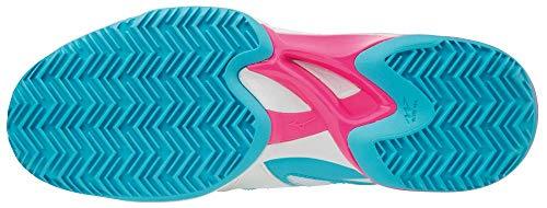 Mizuno Wave Exceed 2 CC, Scarpe da Ginnastica Basse Donna, Multicolore (Fierycoral/White/Beetred 001), 39 EU