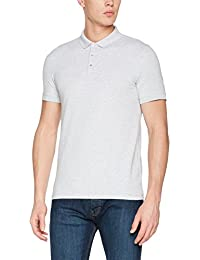 Selected Men's Shddamon Melange SS Noos Polo Shirt
